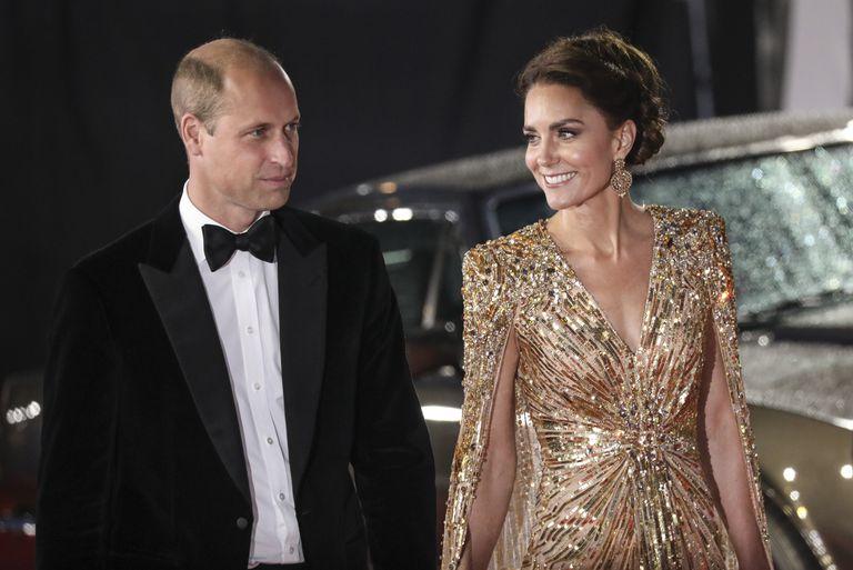 El príncipe William junto a su esposa Kate, duquesa de Cambridge, formaron parte de la lista de invitados al evento