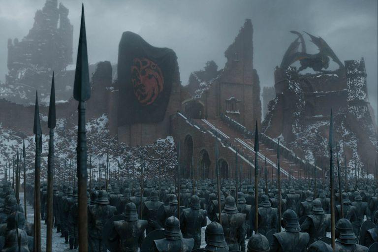 El dominio de Daenerys subraya su carácter totalitario y bélico desde su iconografía