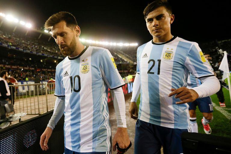 Messi y Dybala, una sociedad que no logró funcionar hasta ahora en la selección Argentina