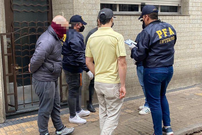 Los operativos de la Policía Federal fueron hechos en Palermo y Cañuelas