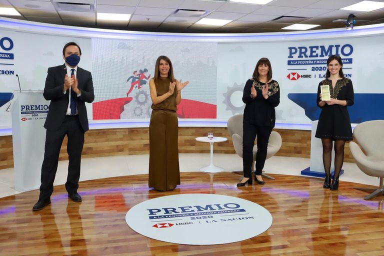 El año pasado se realizó la tercera edición de la entrega de premios a la pymes, organizada por LA NACION y HSBC; la ganadora fue Llamando al doctor