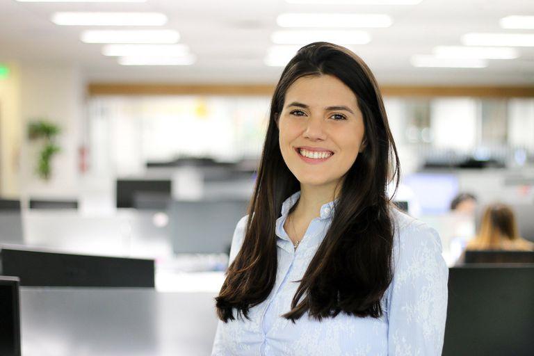 """Lucía Laboudigue - Coordinadora de Talento de Baufest: """"Con las personas que estuvieron en algún momento en un proceso con nosotros se reactiva el contacto mediante un newsletter con novedades de la compañía"""""""