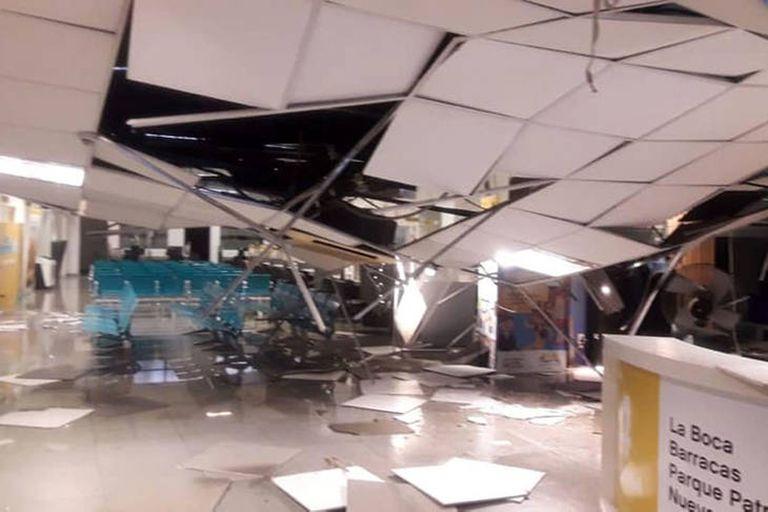 Hace dos años: se derrumbó el techo de una sede comunal y aún no lo arreglaron