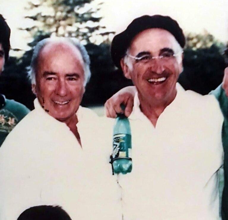 Marcos Uranga junto con Alberto Pedro Heguy: una relación de amistad que terminó siendo familiar