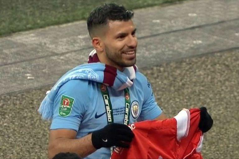 Agüero ayudó a que Guardiola consiga un título con un valor especial