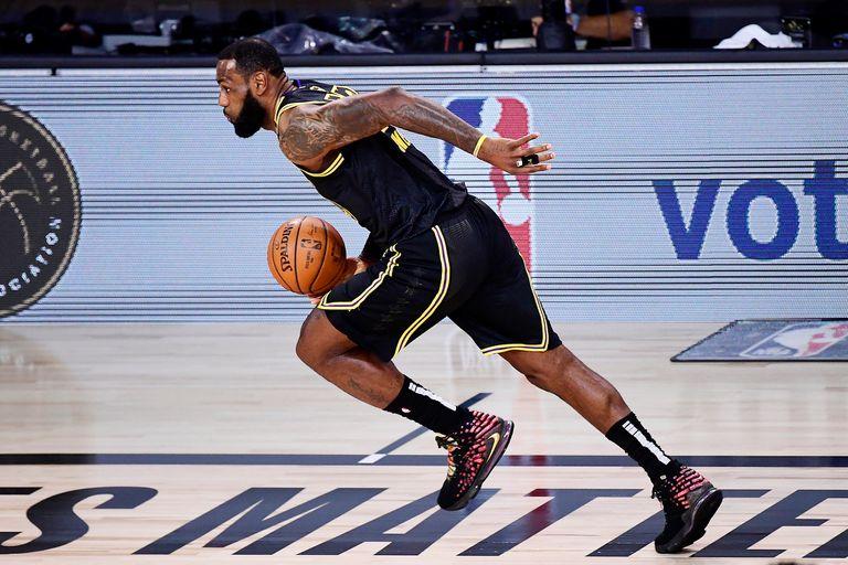NBA. El inédito registro de LeBron en finales, con Lakers ya cerca del anillo