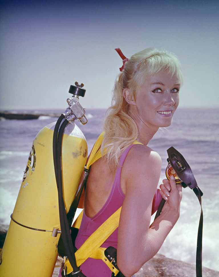 Valerie Taylor en 1964