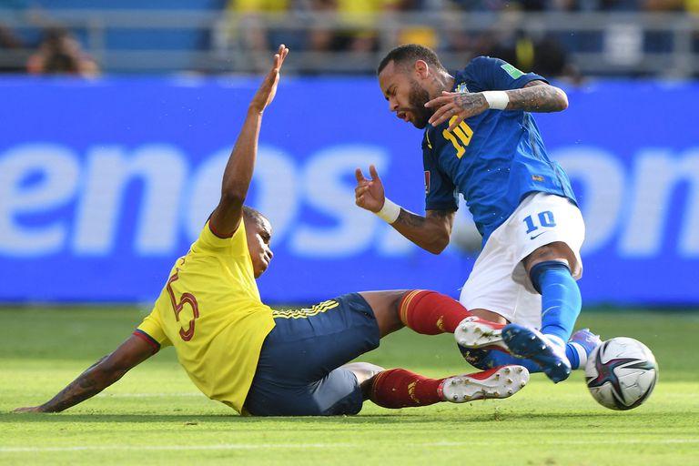 Brasil dejó sus dos primeros puntos en el calor sofocante de Barranquilla