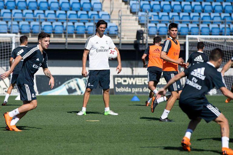 Santiago Solari será el DT interino de Real Madrid