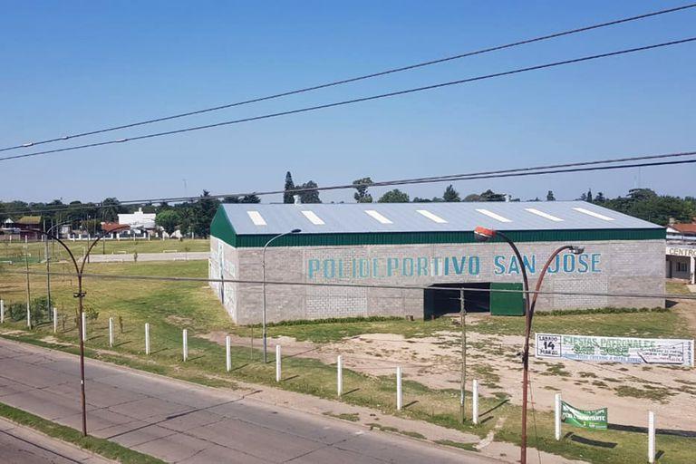 El predio deportivo de la parroquia San José, de La Matanza, transformado en un complejo sanitario