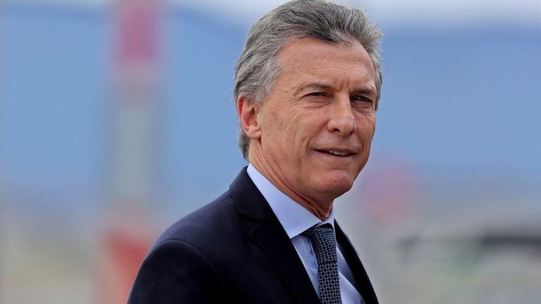 El presidente Mauricio Macri, en la bruma de la incertidumbre