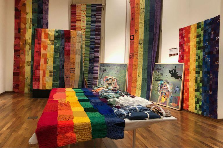 Las obras realizadas por Leo Chiachio, Daniel Ginannone, Cecilia Koppmann y miembros del público