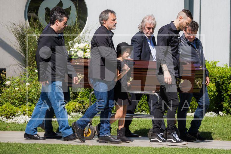 """""""Corcho"""" Rodríguez despidió a su padre acompañado por Brito y Eskenazi"""