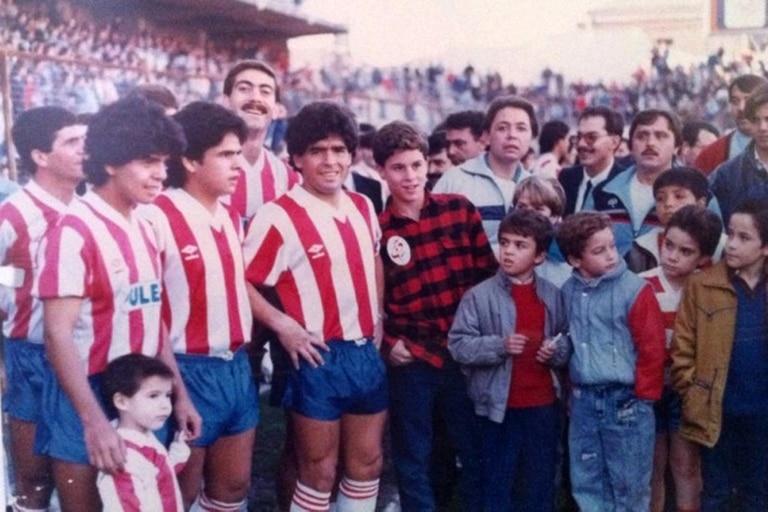 Cuando Maradona jugó en el Granada