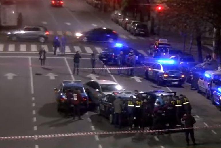 Persecución y choque en Balvanera, hay patrulleros de la ciudad involucrados