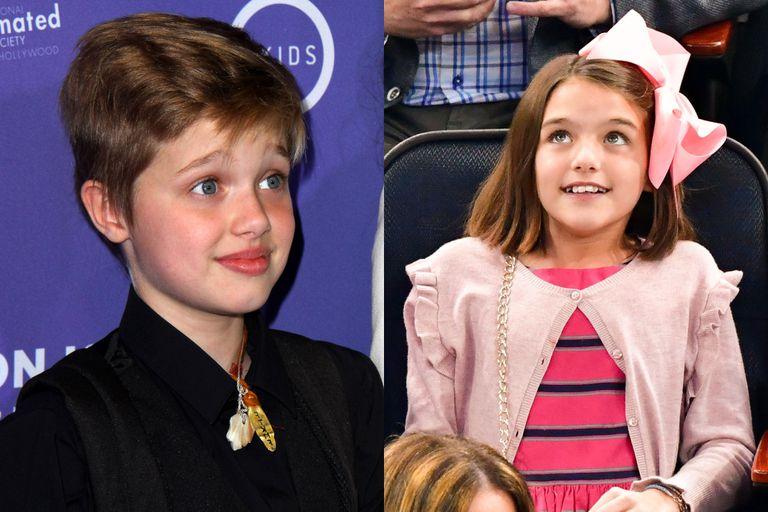 Suri Cruise y Shiloh Jolie Pitt cumplieron 15 años