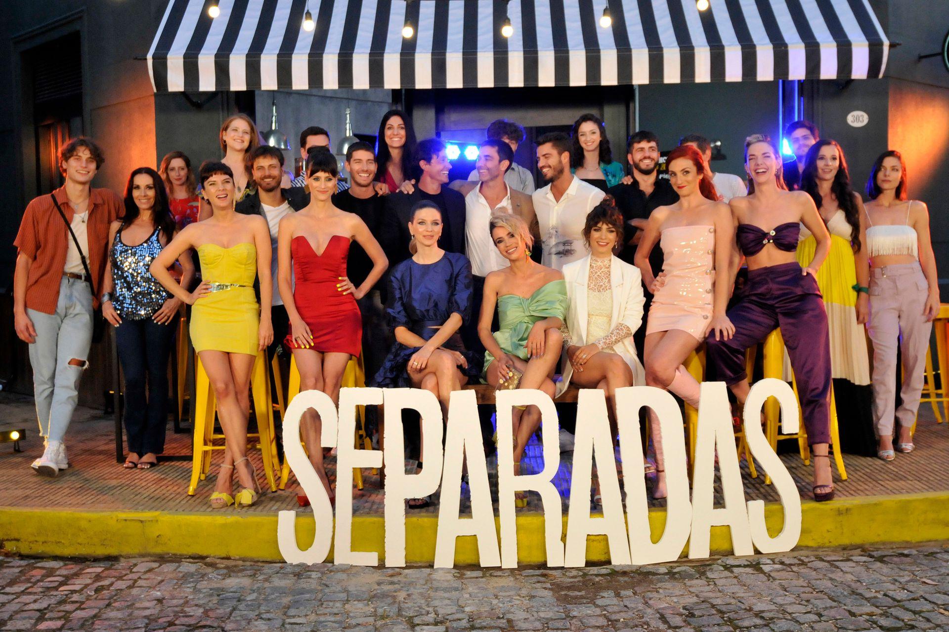 El elenco de Separadas, la nueva tira de eltrece que estrena este lunes, a las 22.15