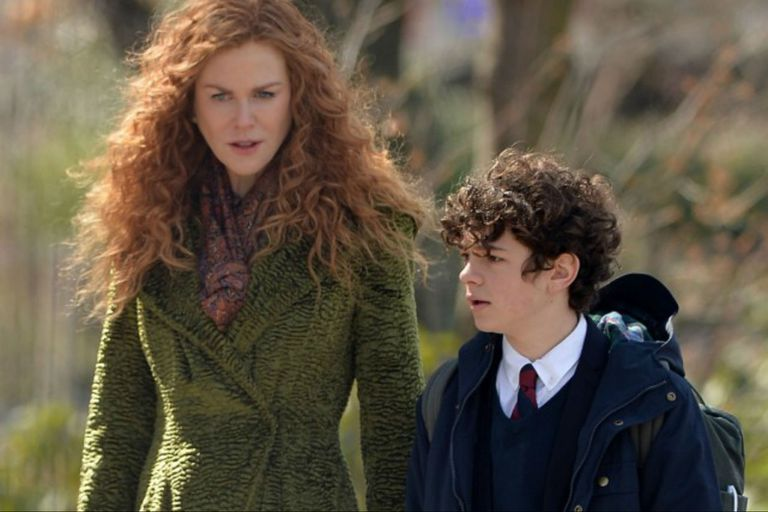 Nicole Kidman y Noah Jupe en The Undoing