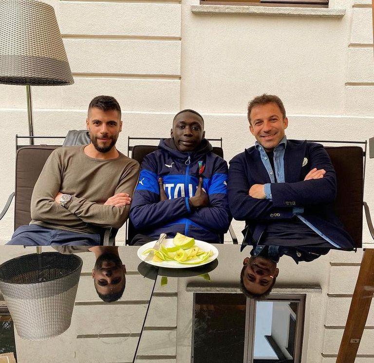 Riggio Alessandro, Khaby Lame y Alessandro Del Piero
