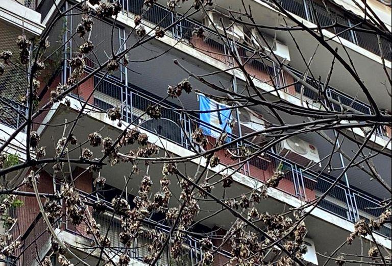 Vecinos del edificio donde vive Cristina Kirchner