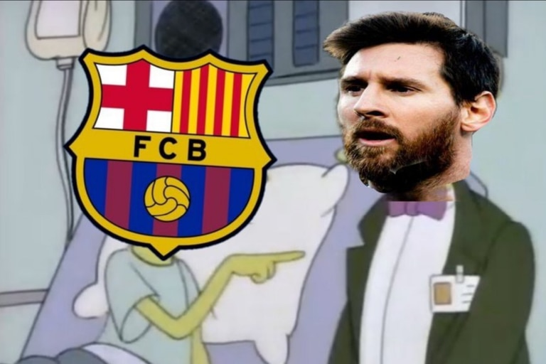 Los memes de Lionel Messi tras la decisión de quedarse en el Barcelona