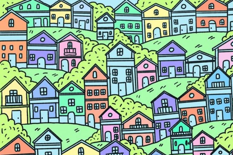 ¿Dónde está la casa sin puerta? El reto viral que requiere atención y destreza