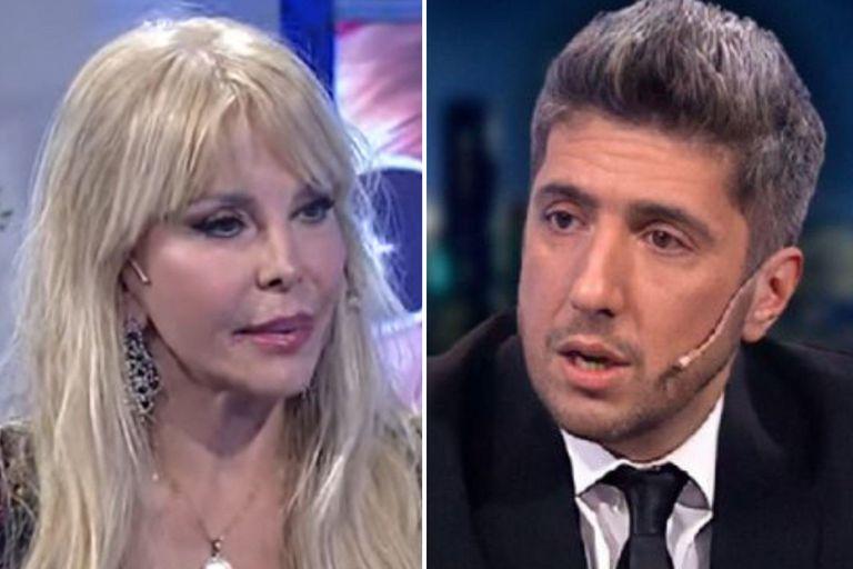 En un mano a mano en su programa, Jey Mammon se sorprendió por una respuesta de Graciela Alfano