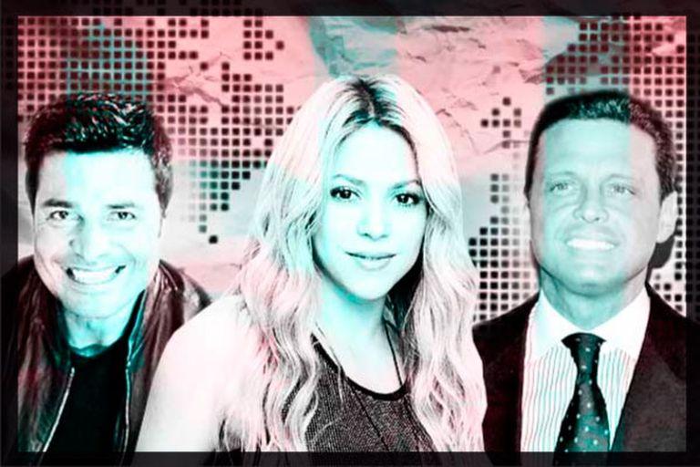 Shakira, Luis Miguel y Chayanne, celebrities latinas con fortunas en paraísos fiscales