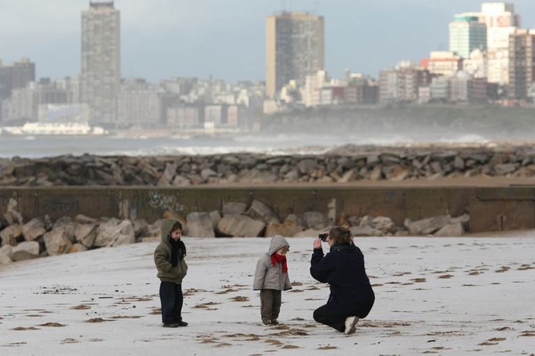 El tiempo. Se esperan nevadas en Mar del Plata y la costa bonaerense