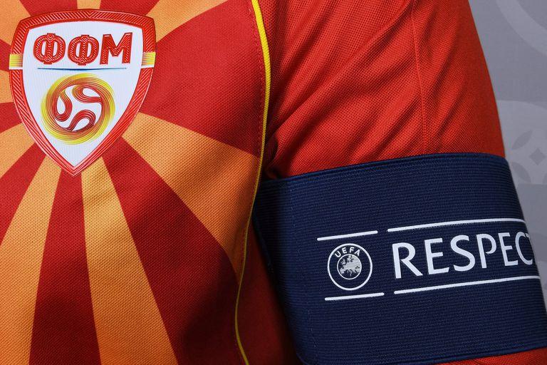 La polémica por el escudo de Macedonia del Norte en la Eurocopa