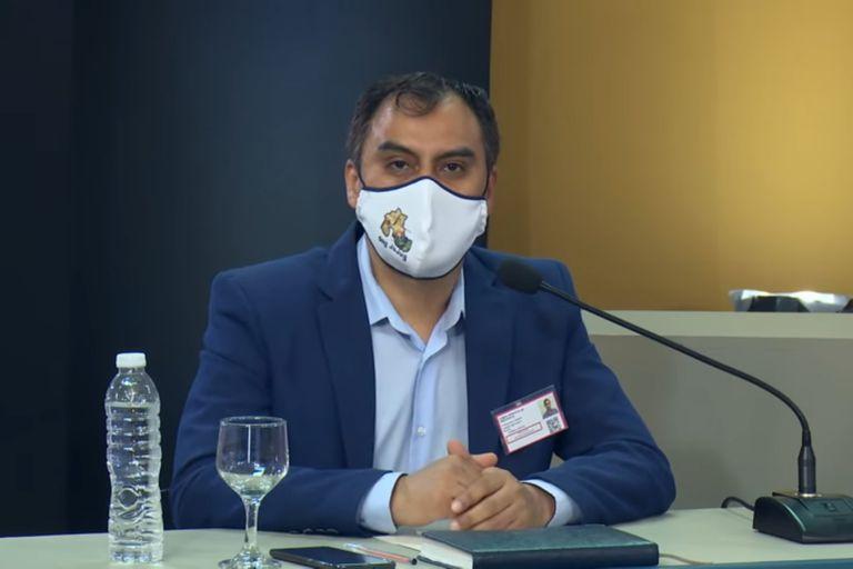 Omar Gutiérrez, coordinador del COE en Jujuy, anunció ensayos con Omega 3 para prevenir el Covid-19.