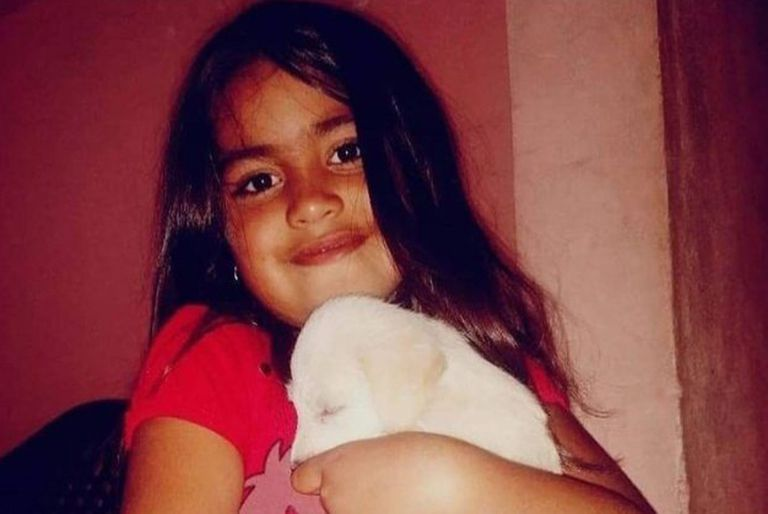 Guadalupe Belén Lucero fue vista por última vez cuando jugaba en la puerta de la casa de una tía