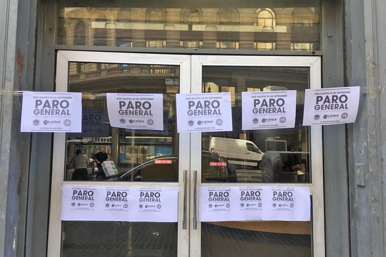 El paro en Rosario