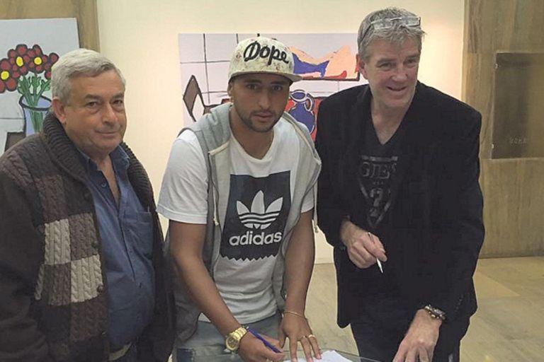 Alan Ruiz jugará en el Sporting Lisboa