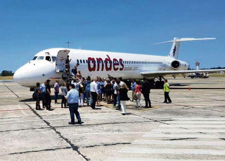 Andes incorporará tres nuevos destinos en 2018
