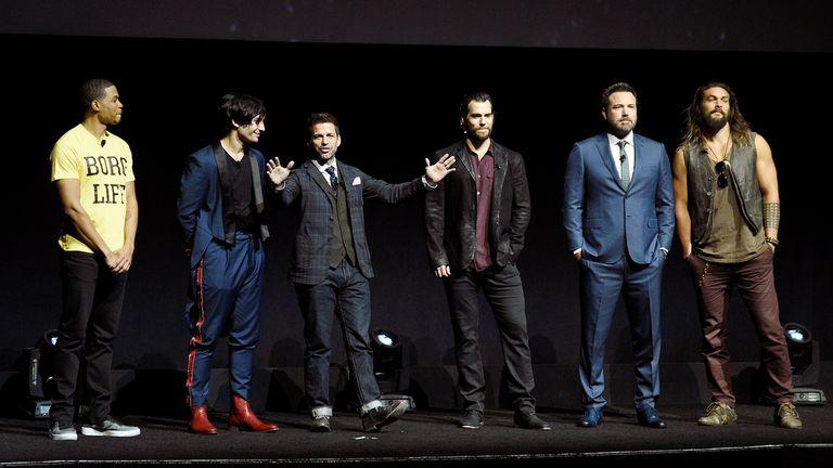 Los actores que participaron de La Liga de la Justicia