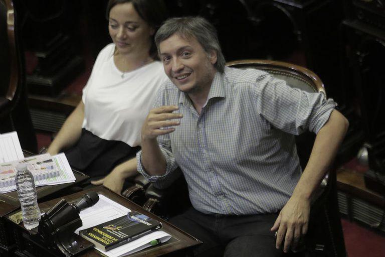 Máximo Kirchner dio un duro discurso en el que expuso a Larreta como candidato presidencial