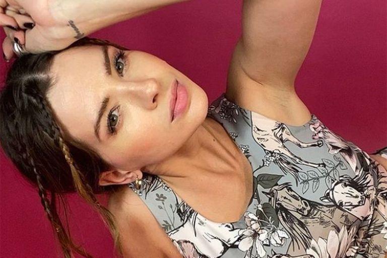 La actriz compartió con sus seguidores el video de una fuerte caída en patines