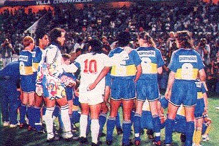 La última visita de Sevilla a la Argentina fue en 1992