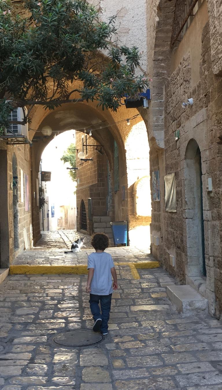 Callejuelas del barrio antiguo de Jaffa, en Tel Aviv
