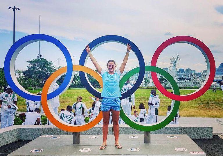 Nadia Podoroska compitió en Tokio 2020 en sus primeros Juegos Olímpicos
