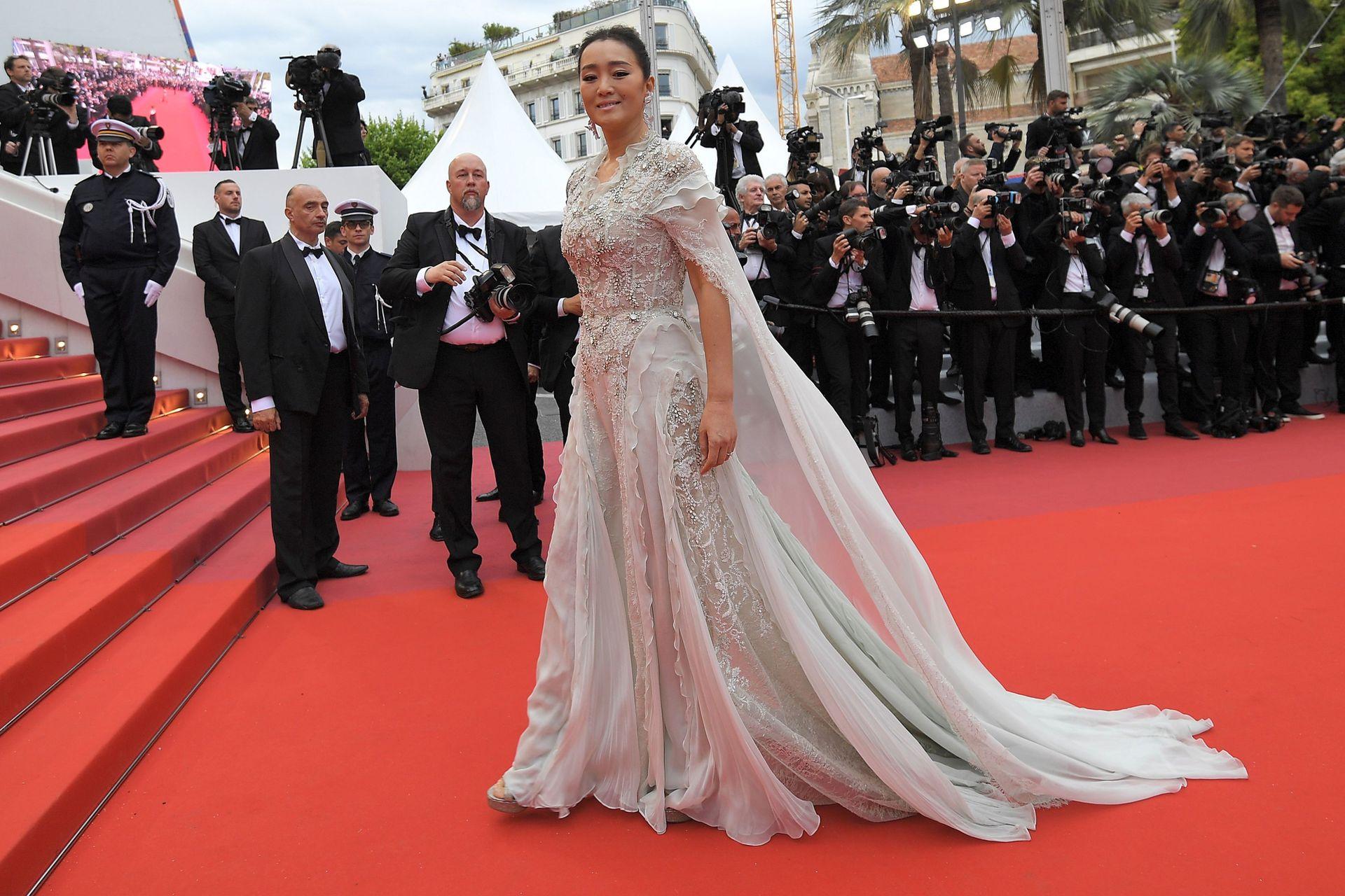La actriz china Gong Li