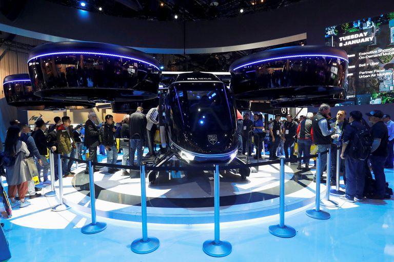 Así se verá Bell Nexus, el transporte aéreo que Uber planea poner en funcionamiento en 2020