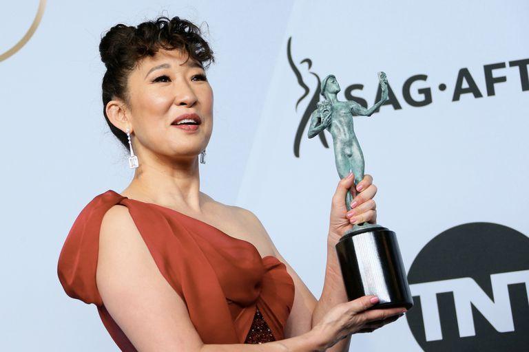 Sandra Oh, mejor actriz en una serie de drama por Killing Eve