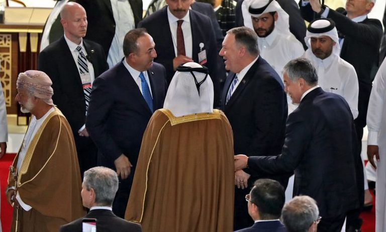 Las negociaciones entre EE.UU. y los talibanes se llevaron a cabo en Doha, en 2020