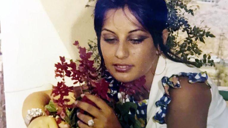 Randa al-Banna, antes de casarse con el emir de Dubai.