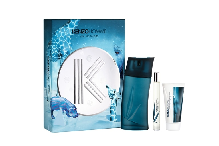 Perfume Kenzo Homme EDT 100ml +50 ml after shave balm + nomad spray, $2210