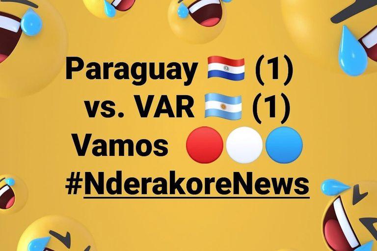 Los memes de Paraguay contra Ruggeri y la burla de José Luis Chilavert