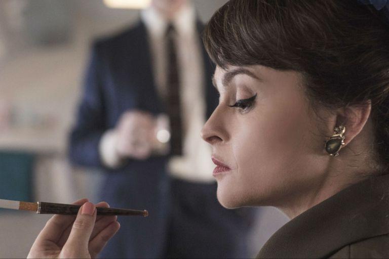 The Crown: la primera imagen de Helena Bonham Carter como la princesa Margarita