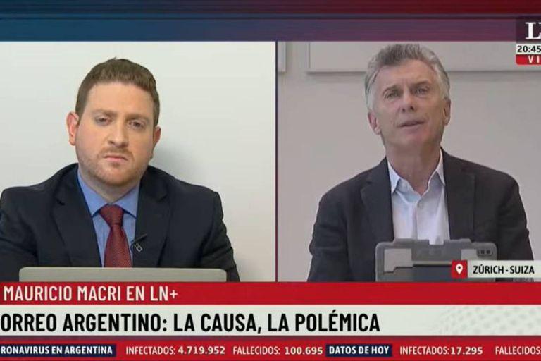 Mauricio Macri habló de todo con Jonatan Viale en LN+